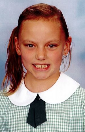 Tiffany Figueira's daughter Abbey Parsons, 9,