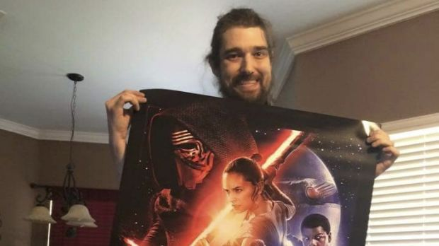 Daniel Fleetwood was granted his final wish to see the latest Star Wars movie.