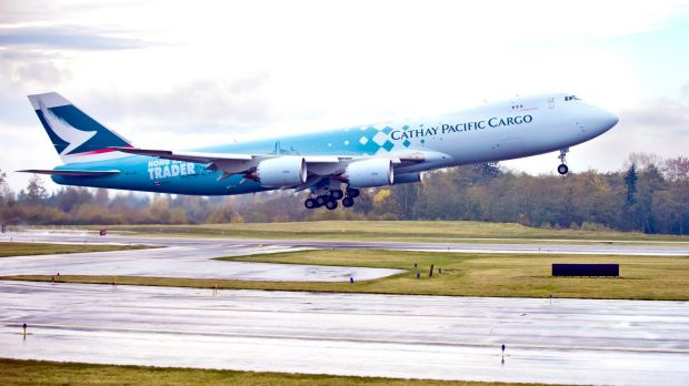 A Cathay Pacific freight plane from Hong Kong will mark the first international flight to arrive at Toowoomba's new airport.