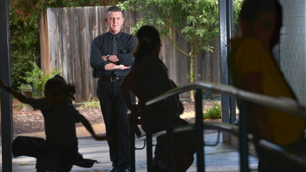 Principal at Holy Child Primary School, Dallas - Alan Smith. Students in the disadvantaged Victorian region are missing ...