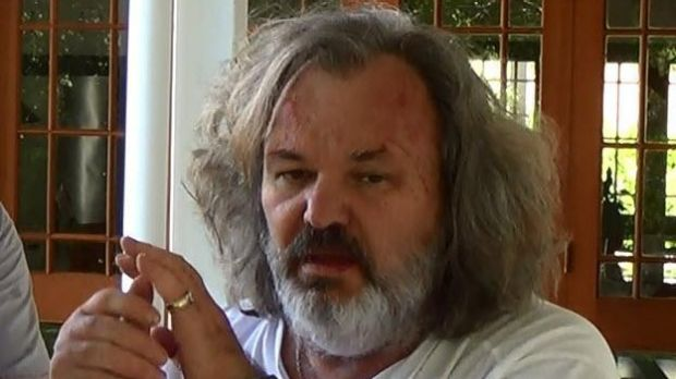 Peter Foster was arrested in Byron Bay last year and was released in October.