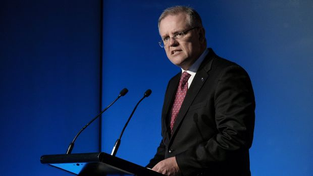 Treasurer Scott Morrison says changes are needed to Australia's tax system to increase the incentive for people to work more.