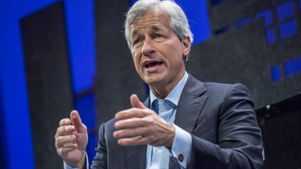 Chief executive Jamie Dimon told analysts that investors were adjusting to China's slowdown, and said there were winners ...