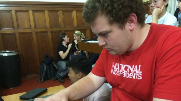 """It's really disappointing"": Cameron Caccamo said the behaviour would damage students' reputations in the wider world."