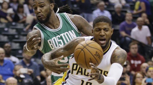 One in a million shot: Jae Crowder (99) in action against the Indiana Pacers on Thursday.