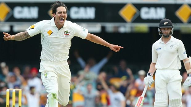 Nearing the end: Mitchell Johnson says he thinks about retirement most days.