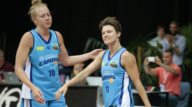 Jess Bibby's record-equalling match in Sydney on Friday night was one to forget for her and her Canberra Capitals teammates.