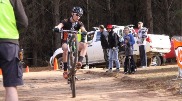 Canberra mountain biker Tristan Ward will give up the mud for lycra after the world champs.