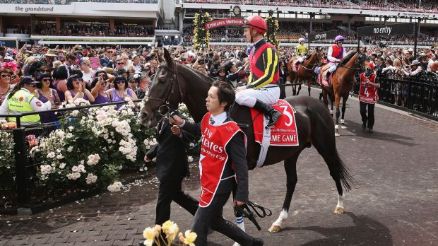 Carnival flop: Favourite Fame Game didn't place in the Melbourne Cup