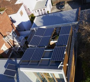 Solar panels are likely to become more common sights in inner city locations - with storage following close behind.