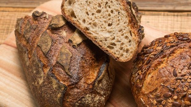 60 per cent of the average person's calories come from wheat, grains and rice.