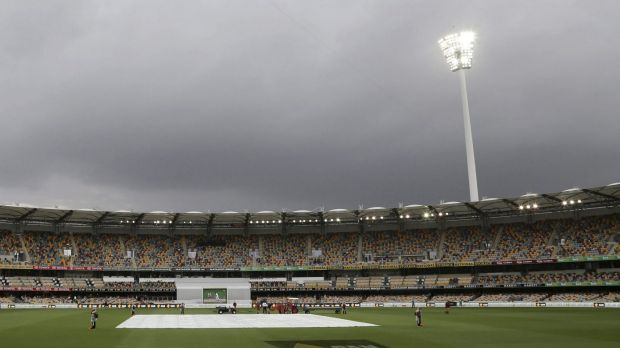 Rain is likely to hit Brisbane by Friday afternoon, just in time for the one day international.