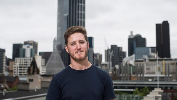 Daniel Platt, co-owner of Localing, a company that takes guided tours around Melbourne, has struggled with invoicing.