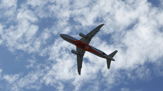 Domestic airlines have been affected by the wild weather.