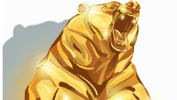 Gold stocks have tumbled into a bear market.