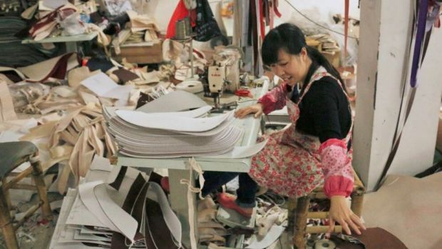 Qiu Haijing employs more than 100 workers making and selling car seat covers via Taobao, a popular Chinese online ...