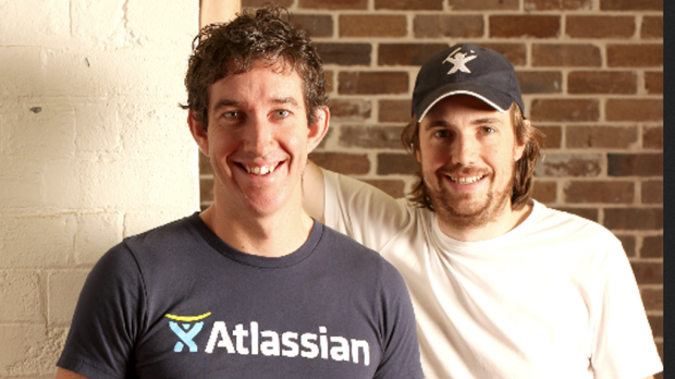 Mike Cannon-Brookes and Scott Farquhar represent a different approach for an Australian tech company; they're holding on ...