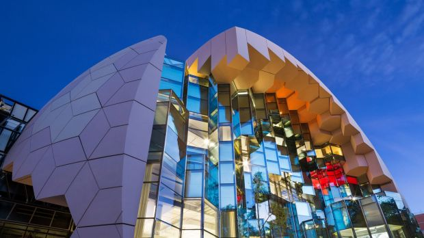 The new Geelong Library and Heritage Centre.
