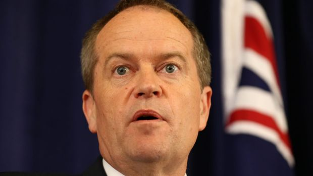 Opposition Leader Bill Shorten says Australia can't afford Malcolm Turnbull to be Tony Abbott in drag when it comes to ...