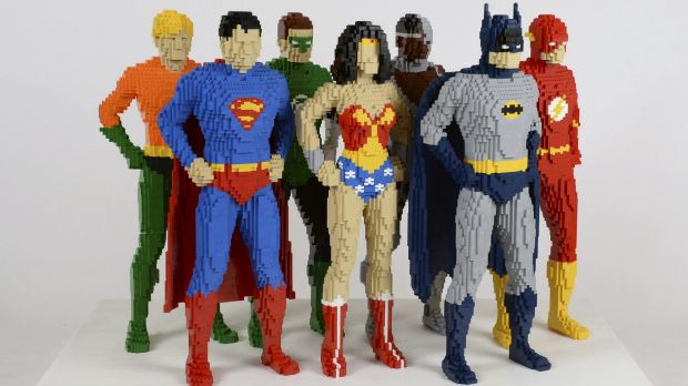 Nathan Sawaya's  Lego sculptures of heroes and villains are on show from Sunday, November 22, at the  Powerhouse Museum, ...