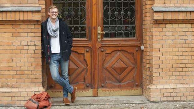 From Australia to Germany: Pascal Herington is able to study overseas thanks to Germany's generous scholarship scheme.