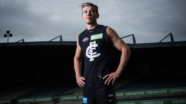 Could young Blues star Patrick Cripps be heading to the Dockers next year?