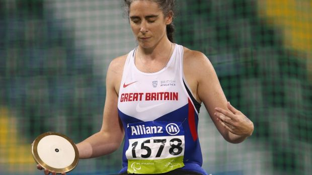 Claire Harvey competes in Athletics World Championships, held in Doha, Qatar, in October.