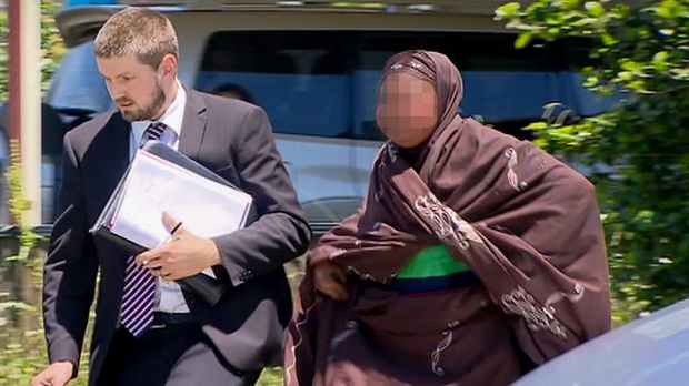 Mother Fawziya Adam says she made a mistake restraining her son, who has autism.