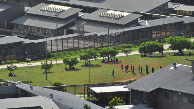 Most Christmas Island detainees had unrestricted access to their mobile phones before the riot.