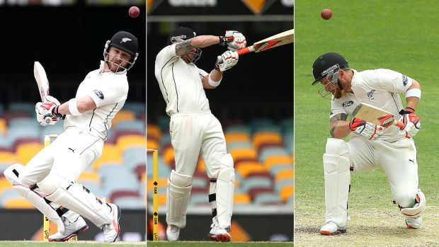 Duck and weave: Black Caps skipper Brendon McCullum faced a barrage at the Gabba. It's likely to be even worse at the WACA.
