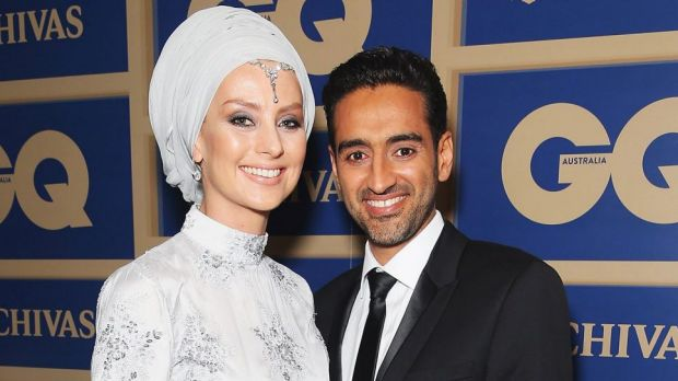 Susan Carland and her husband Waleed Ali.