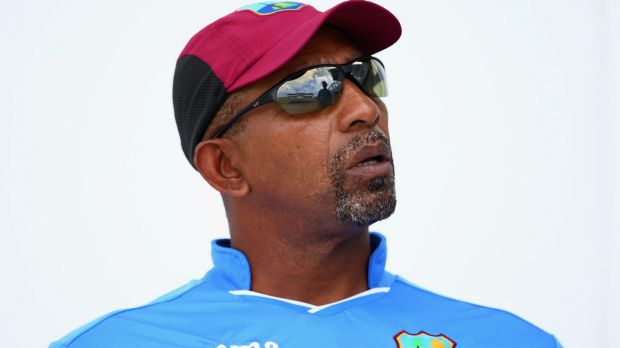 Silent treatment: West Indies coach Phil Simmons has barred his players from talking to ABC commentator Fazeer Mohammed.