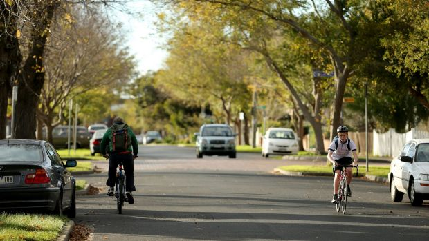 The green streets of  Footscray.