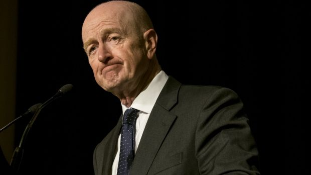 RBA governor Glenn Stevens: Board relaxed on Australian economy, dollar as US counterpart prepares for rates lift-off.