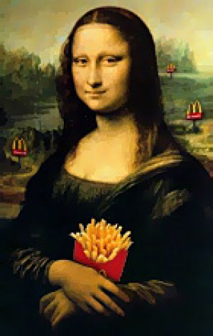 Visitors to the Louvre will be treated to the smell of  McDonald's fries, much to the horror of Parisians.