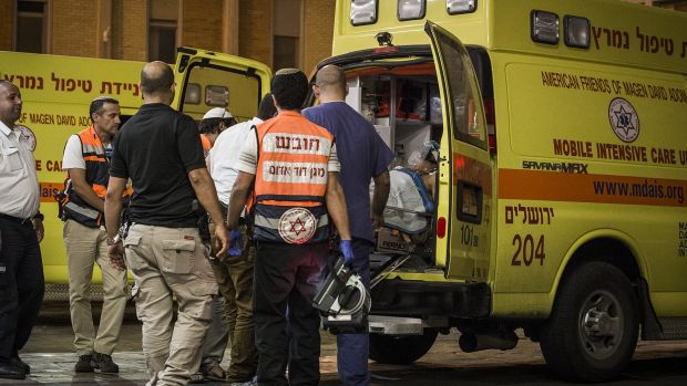 Israelis have seen a wave of stabbing attacks - however, one victim says the act of violence may have saved his life.