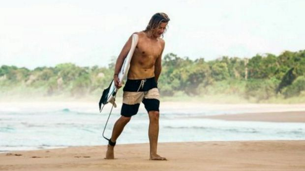 Ballina surfer Sam Morgan was attacked by a bull shark on Tuesday