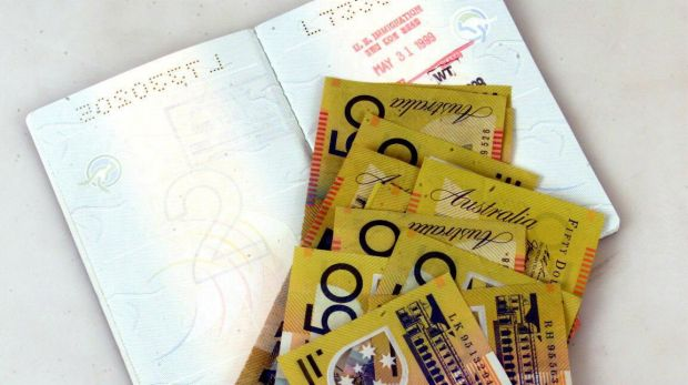 On the spot loans are available for Australian travellers to replace a missing passport.