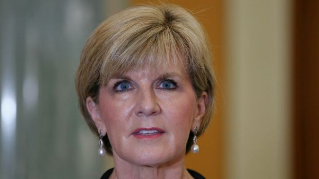 Foreign Minister Julie Bishop says Australia's screening process is rigorous.