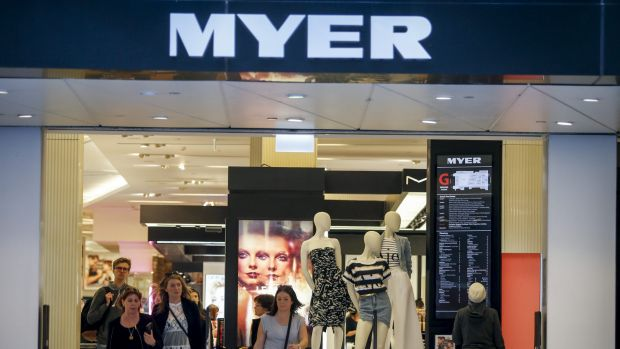 Myer is partnering with online marketplace eBay to attract new customers online and in store.