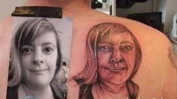 Portrait tattoos: a quality image is important, Leslie Rice, owner of LDF Tattoos, says.