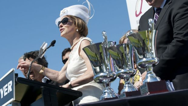 Leading the way: Gai Waterhouse will again have a big say in January's Magic Millions with 53 two-year-old nominations.