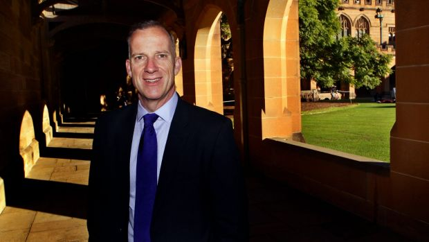 Education Minister Simon Birmingham is targeting the $1.4 million salary of University of Sydney vice-chancellor Michael ...