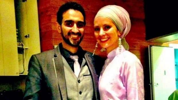 Susan Carland with her husband, Fairfax columnist and host of <i>The Project</i> Waleed Aly.