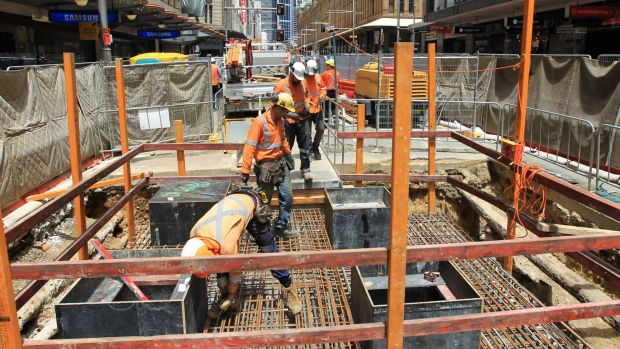 An additional 800 metres of George Street will become a construction site in coming weeks.