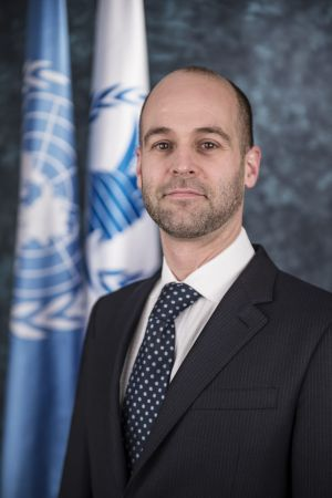 Samuel Beever, President of the WFP Executive Board.