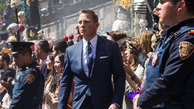 Spectre, the James Bond film starring Daniel Craig, helped cinema screen advertising rise 37 per cent in 2015.