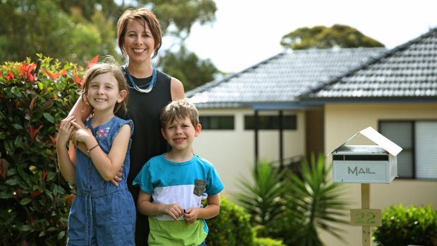 Janine Louden and her husband are returning to their original lender, so they won't have to set up new accounts.