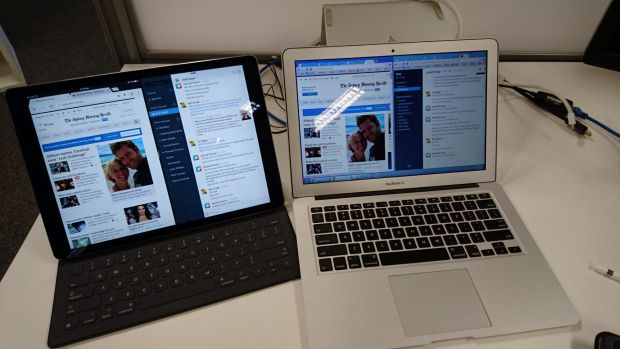 iPad Pro and a 13-inch MacBook Air, both using Chrome and Slack. The iPad will do fine for a lot of work tasks but it ...