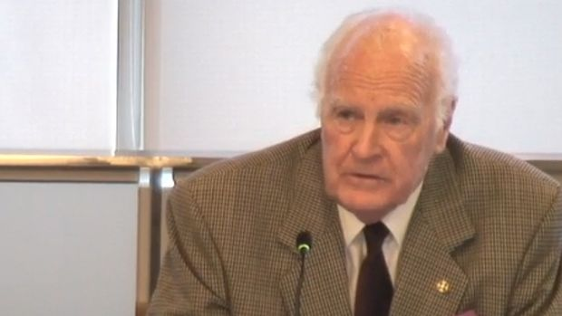 Former governor general Dr Peter Hollingworth fronts the royal commission.